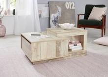 Stolik kawowy z szufladą UNIVERSAL 188 - drewno jasne