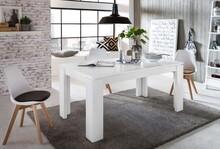 Stół rozkładany UNIVERSAL 160(200)x90 - biały