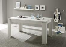 Stół rozkładany UNIVERSAL 160(200)x90 - sosna biała
