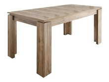 Stół rozkładany UNIVERSAL 160(200)x90 - orzech satin