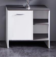 Szafka pod umywalkę 1-drzwiowa SAN DIEGO - biały/szary