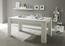 Stół rozkładany GEORGIA 160(220)x90 - sosna biała