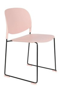 Krzesło STACKS różowe