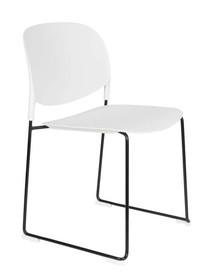 Krzesło STACKS białe