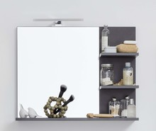 Lustro z półkami INDY BATHROOM - matera