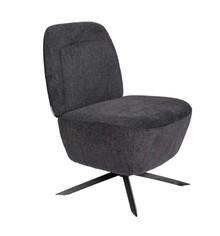 Fotel lounge DUSK - ciemnoszary
