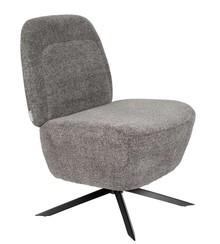 Fotel lounge DUSK - jasnoszary