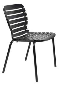 Krzesło ogrodowe VONDEL - czarny