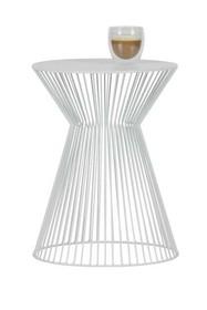 Stolik SUUS metalowy - biały