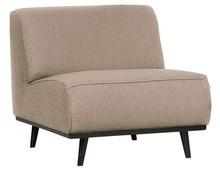 Fotel bez podłokietników STATEMENT - beżowy