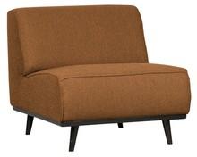 Fotel bez podłokietników STATEMENT - maślany