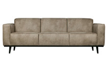 Sofa 3-osobowa STATEMENT 230 cm - skóra słonia