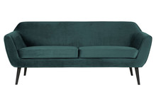 Sofa ROCCO 187 cm velvet - morski