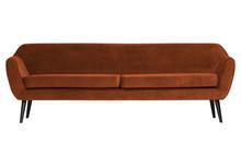 Sofa ROCCO XL 230 cm velvet - rdzawy