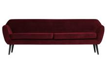 Sofa ROCCO XL 230 cm velvet - czerwony