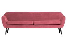 Sofa ROCCO XL 230 cm velvet - różowy