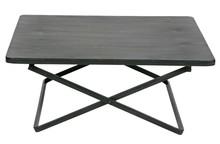 Stolik CRUX L metalowy - czarny