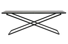 Stolik CRUX XL metalowy - czarny
