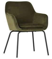Zestaw 2 krzeseł MOOD velvet - zielone