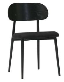 Zestaw 2 krzeseł CLASS - czarne