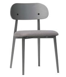 Zestaw 2 krzeseł CLASS - szare