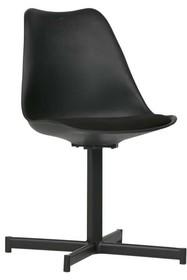 Zestaw 2 krzeseł FLOW - czarne