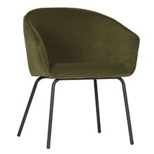 Zestaw 2 krzeseł SIEN velvet - wojskowa zieleń