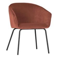 Zestaw 2 krzeseł SIEN velvet - malina