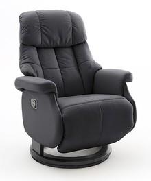 Fotel relax CALGARY COMFORT L - czarny/czarny