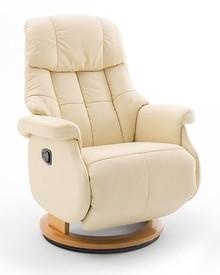 Fotel relax CALGARY COMFORT L - krem/naturalny