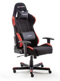 Fotel gamingowy DX RACER 1 - czarny/czerwony
