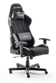 Fotel gamingowy DX RACER 5 - czarny/szary
