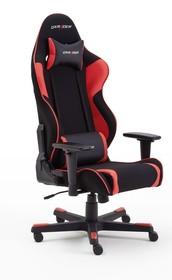 Sportowy fotel gamingowy DX RACER R1 - czarny/czerwony
