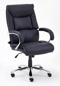 Fotel gabinetowy REAL COMFORT 1 - czarny