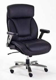 Fotel gabinetowy REAL COMFORT 3 - czarny