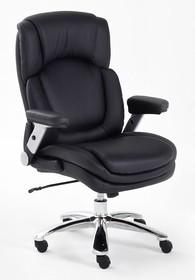 Fotel gabinetowy REAL COMFORT 4 - czarny