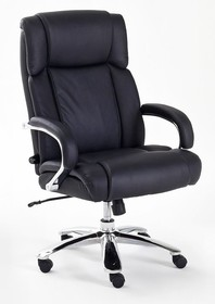 Fotel gabinetowy REAL COMFORT 5 - czarny