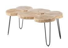 Stolik drewniany COLE - drewno akacji