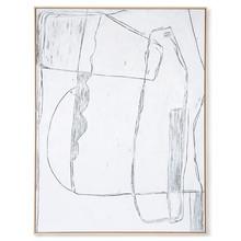 Obraz BRUTALISM 120x160 - biały