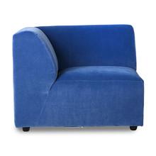 Kanapa JAX: element lewy - royal velvet blue