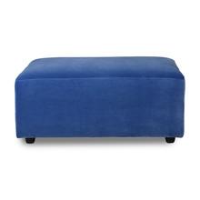 Kanapa JAX: podnóżek - royal velvet blue
