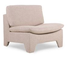 Fotel RETRO LOUNGE - różowy melanż