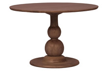 Stół BLANCO Ø120 cm - drewno mango
