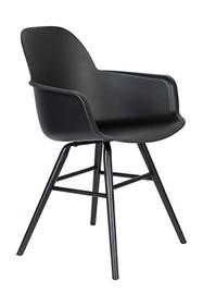 Krzesło z podłokietnikami ALBERT KUIP - czarny