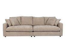 Sofa 3-osobowa SENSE - naturalny