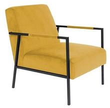 Fotel WAKASAN - żółty