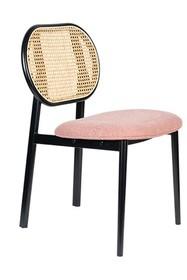 Krzesło SPIKE - naturalny/różowy