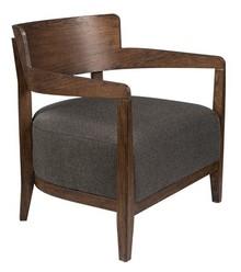 Fotel z podłokietnikami DURAN - szary