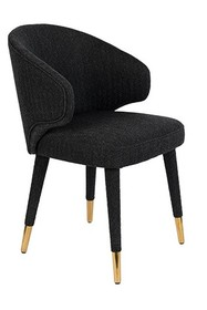 Krzesło LUNAR BLACK FR