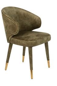 Krzesło LUNAR VELVET MOSS FR